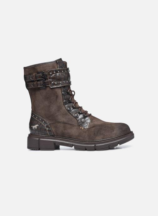 Stiefeletten & Boots Mustang shoes Théa braun ansicht von hinten