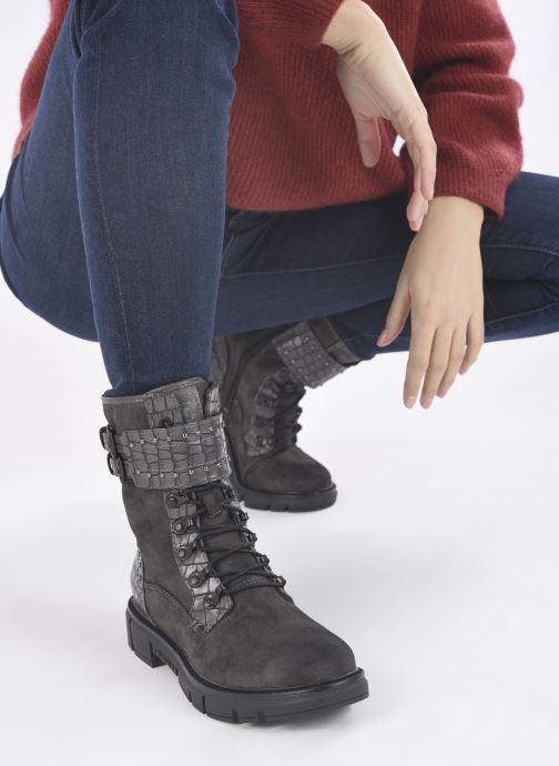Stiefeletten & Boots Mustang shoes Théa grau ansicht von unten / tasche getragen