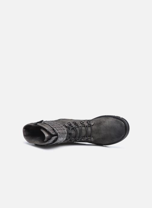 Boots en enkellaarsjes Mustang shoes Théa Grijs links
