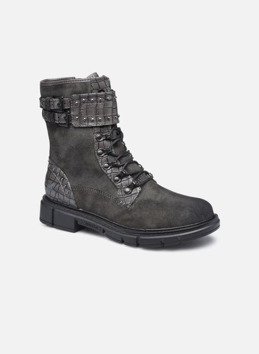 Boots en enkellaarsjes Mustang shoes Théa Grijs detail