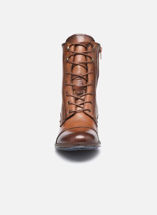 Stiefeletten & Boots Mustang shoes Etel braun schuhe getragen