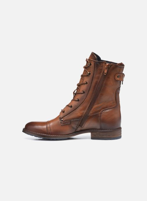 Stiefeletten & Boots Mustang shoes Etel braun ansicht von vorne