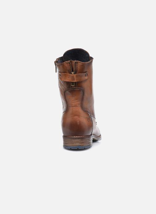 Stiefeletten & Boots Mustang shoes Etel braun ansicht von rechts