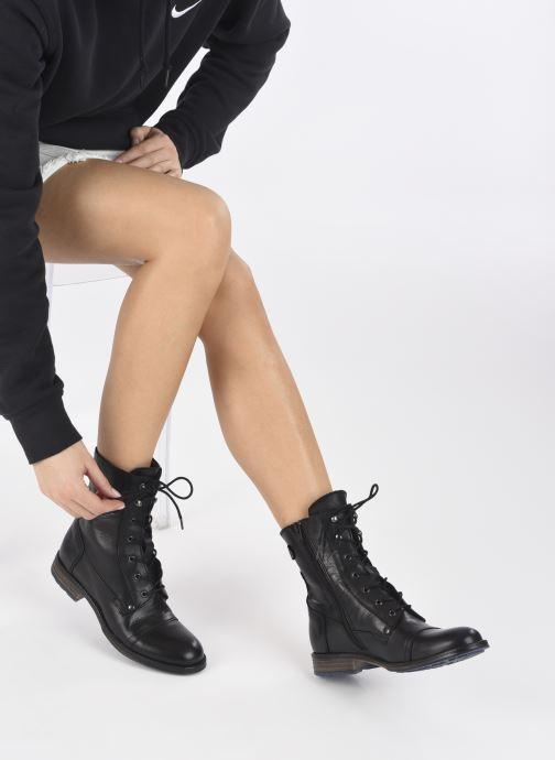 Boots en enkellaarsjes Mustang shoes Etel Zwart onder