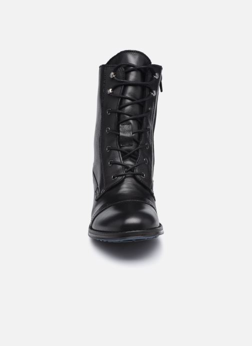 Boots en enkellaarsjes Mustang shoes Etel Zwart model