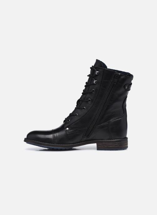Boots en enkellaarsjes Mustang shoes Etel Zwart voorkant