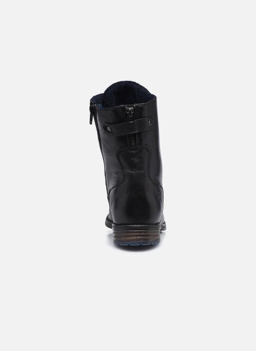 Boots en enkellaarsjes Mustang shoes Etel Zwart rechts