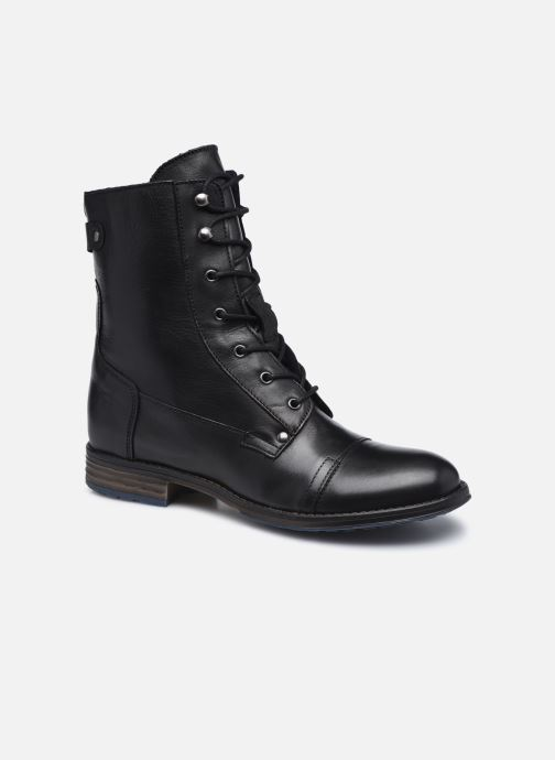 Boots en enkellaarsjes Mustang shoes Etel Zwart detail
