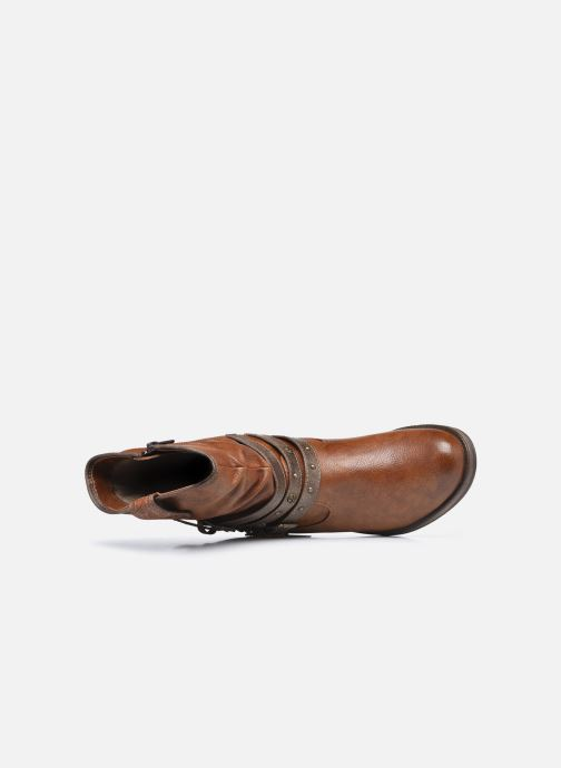 Bottines et boots Mustang shoes Rexi Marron vue gauche