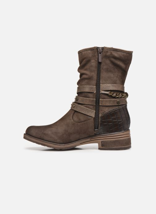 Stivaletti e tronchetti Mustang shoes Rexi Marrone immagine frontale