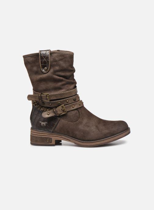 Bottines et boots Mustang shoes Rexi Marron vue derrière