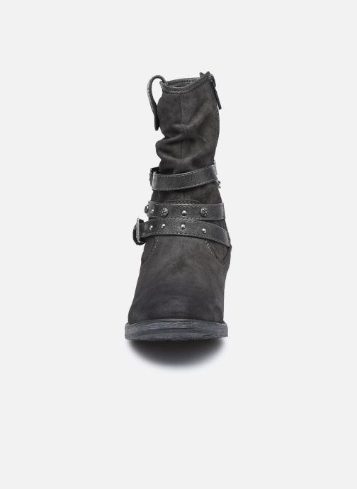 Bottines et boots Mustang shoes Rexi Gris vue portées chaussures