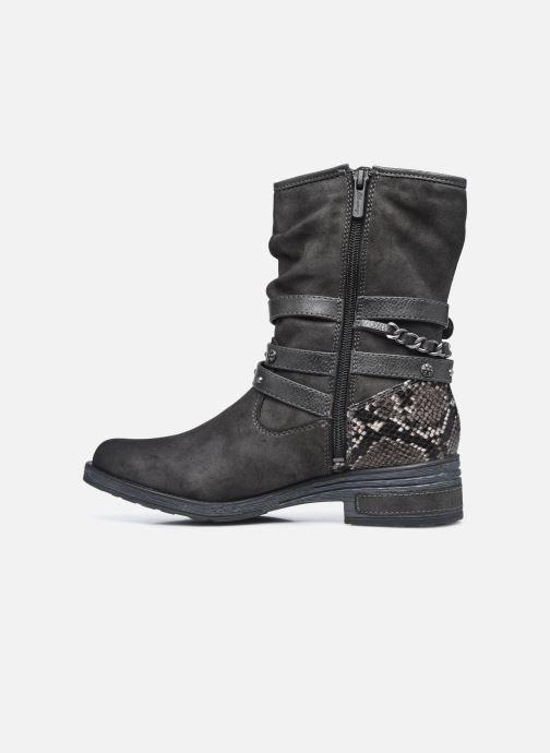 Bottines et boots Mustang shoes Rexi Gris vue face