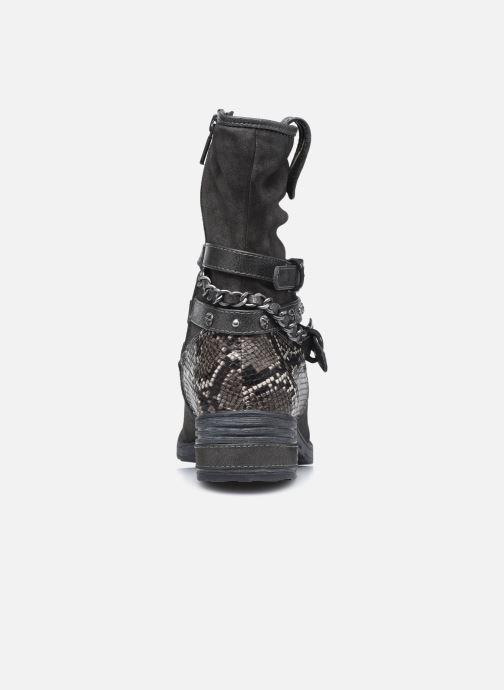 Bottines et boots Mustang shoes Rexi Gris vue droite