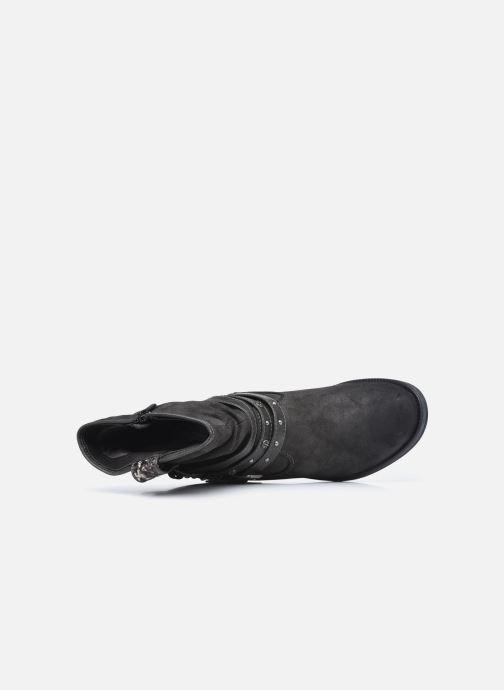 Boots en enkellaarsjes Mustang shoes Rexi Grijs links