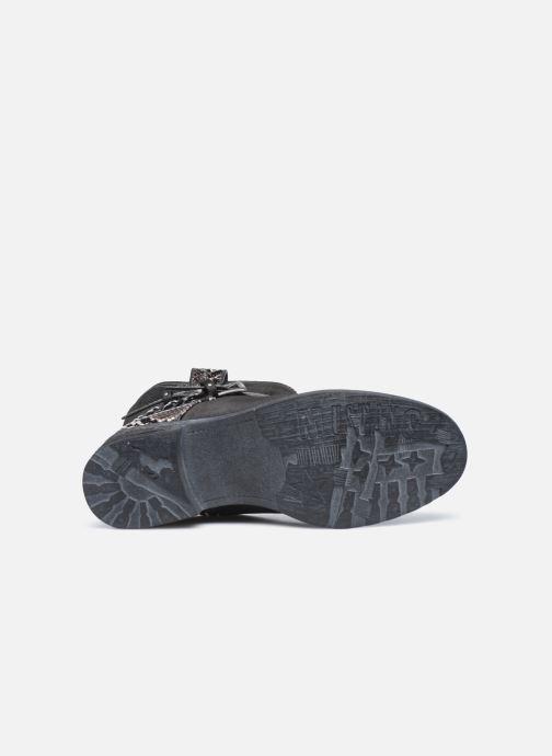 Bottines et boots Mustang shoes Rexi Gris vue haut