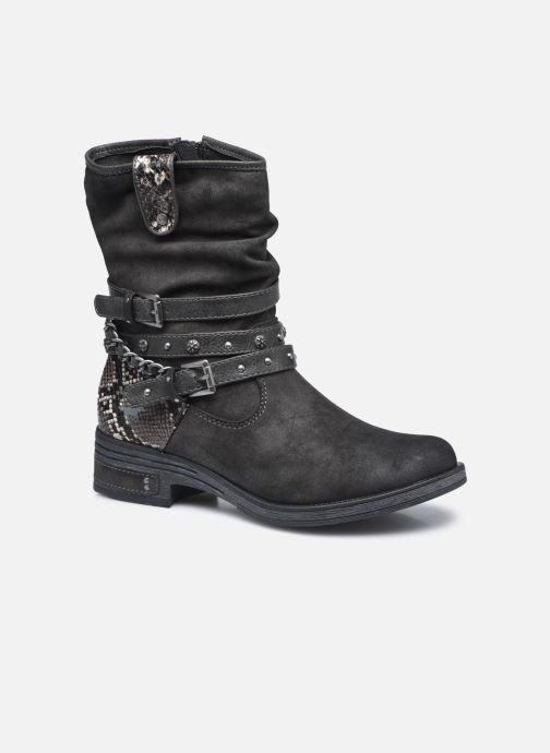 Bottines et boots Mustang shoes Rexi Gris vue détail/paire