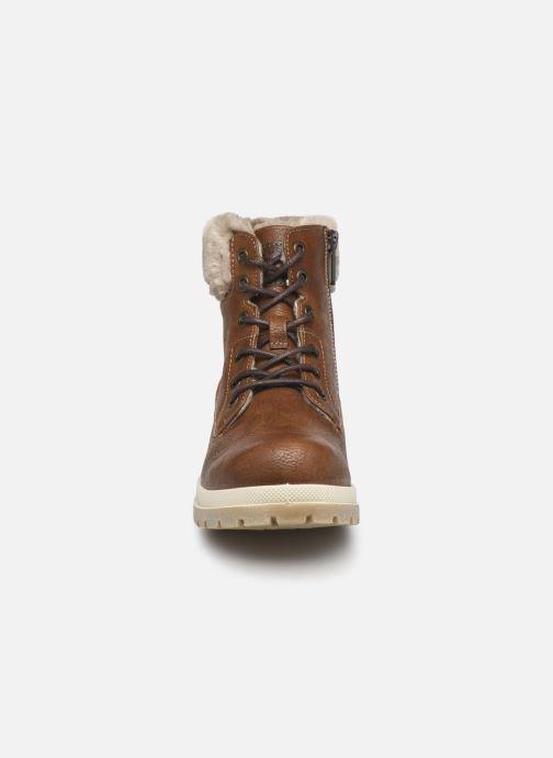 Boots en enkellaarsjes Mustang shoes Nour Bruin model