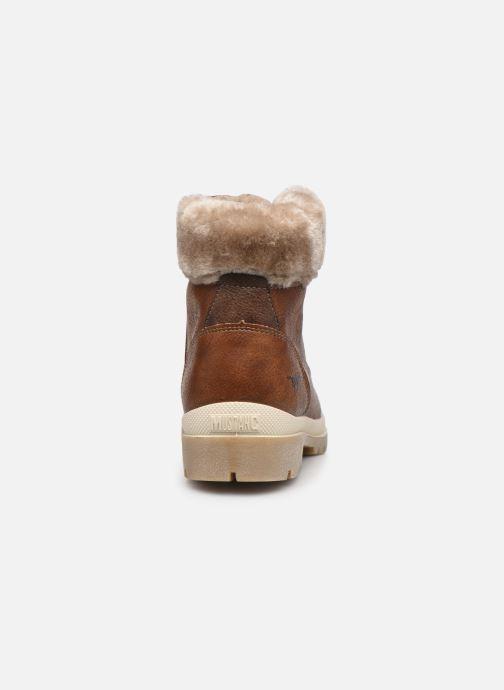Boots en enkellaarsjes Mustang shoes Nour Bruin rechts