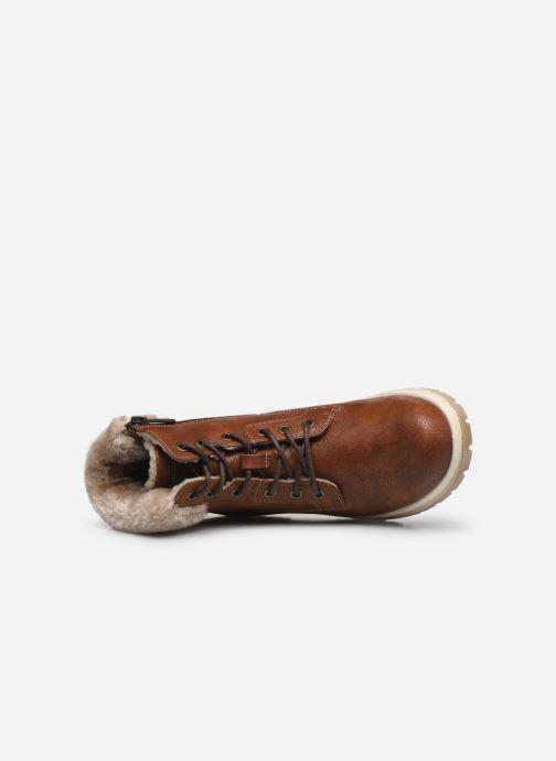 Boots en enkellaarsjes Mustang shoes Nour Bruin links