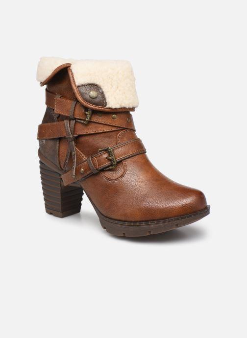 Bottes Mustang shoes Heva Marron vue détail/paire