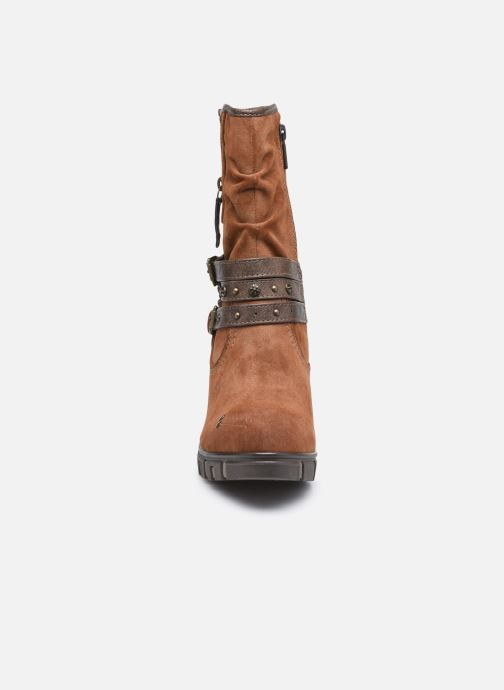 Bottines et boots Mustang shoes Alix Marron vue portées chaussures