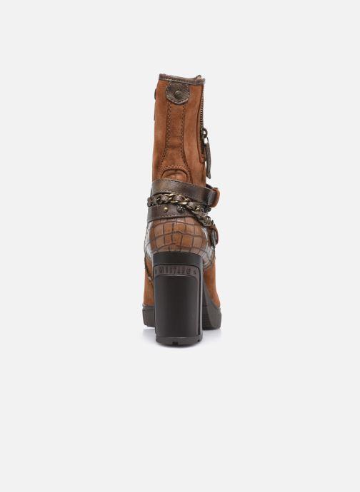 Bottines et boots Mustang shoes Alix Marron vue droite