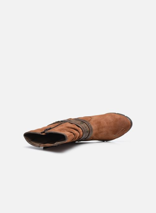 Bottines et boots Mustang shoes Alix Marron vue gauche