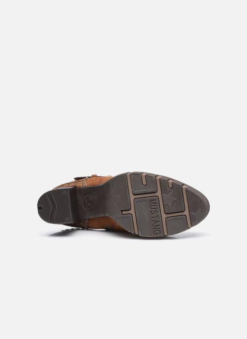 Bottines et boots Mustang shoes Alix Marron vue haut