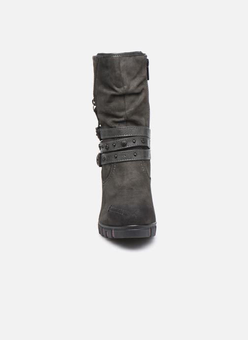 Bottines et boots Mustang shoes Alix Gris vue portées chaussures