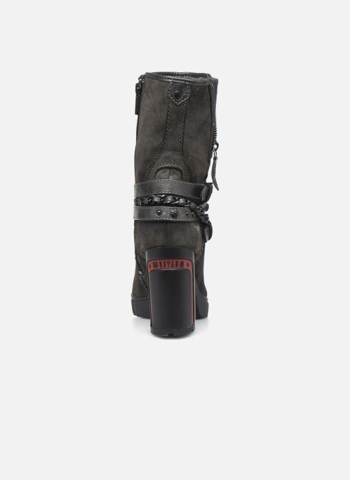 Bottines et boots Mustang shoes Alix Gris vue droite
