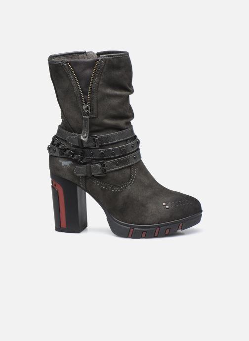 Bottines et boots Mustang shoes Alix Gris vue derrière