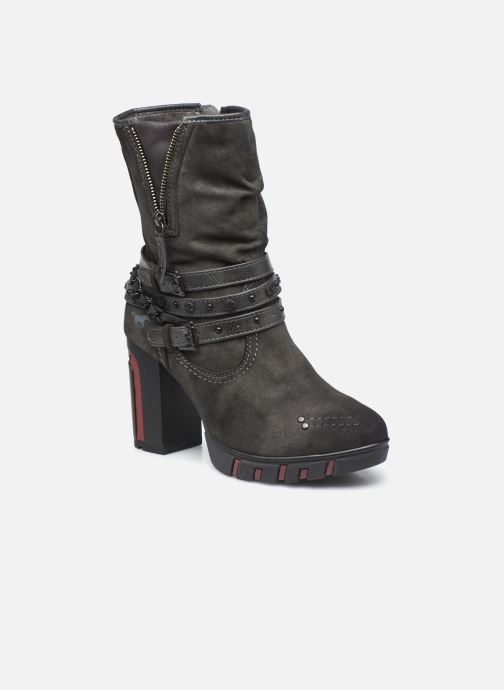Bottines et boots Mustang shoes Alix Gris vue détail/paire