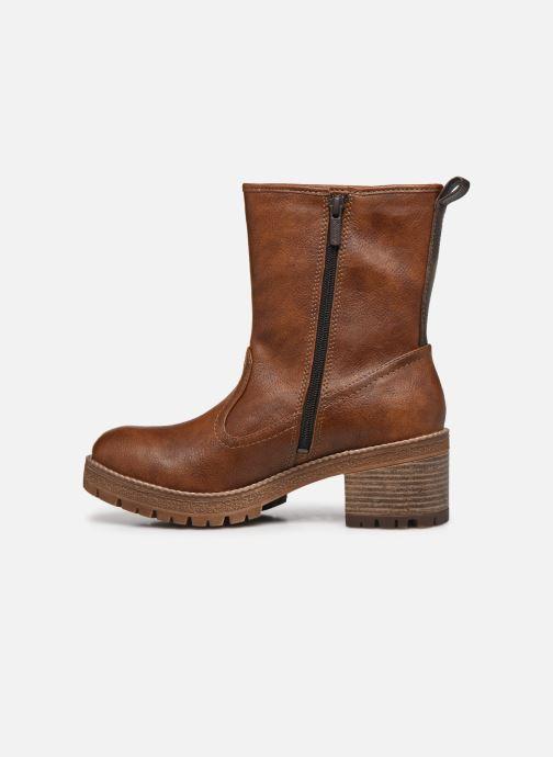 Boots en enkellaarsjes Mustang shoes Pia Bruin voorkant