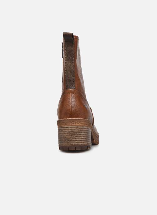 Boots en enkellaarsjes Mustang shoes Pia Bruin rechts