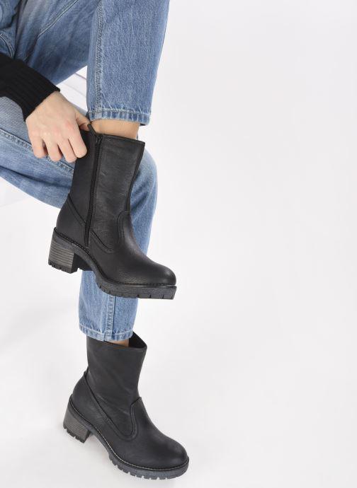Stiefeletten & Boots Mustang shoes Pia grau ansicht von unten / tasche getragen