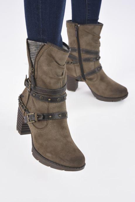 Stiefeletten & Boots Mustang shoes indiala braun ansicht von unten / tasche getragen