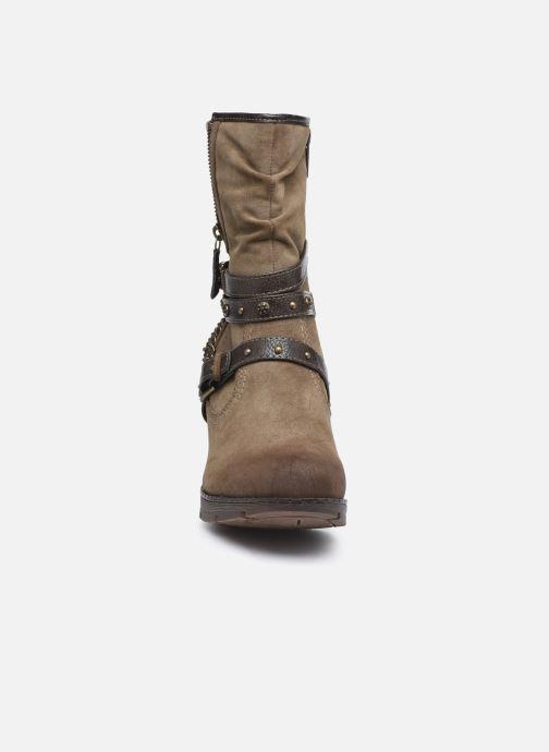 Stiefeletten & Boots Mustang shoes indiala braun schuhe getragen