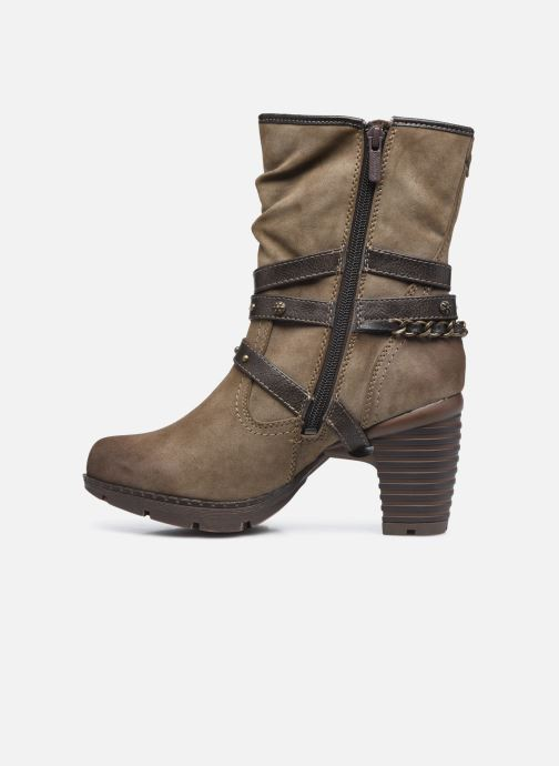 Bottines et boots Mustang shoes indiala Marron vue face