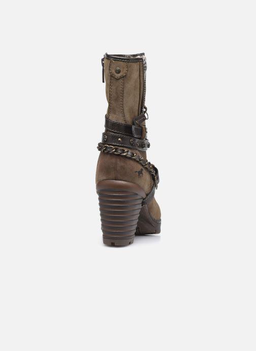 Stiefeletten & Boots Mustang shoes indiala braun ansicht von rechts