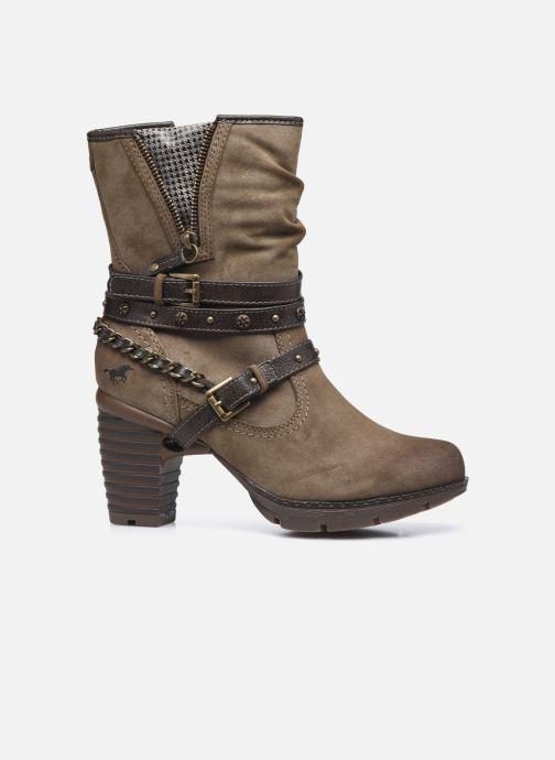 Stiefeletten & Boots Mustang shoes indiala braun ansicht von hinten