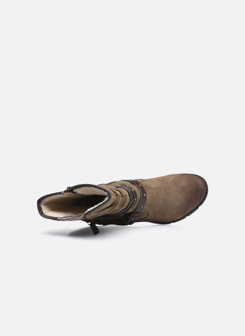 Stiefeletten & Boots Mustang shoes indiala braun ansicht von links