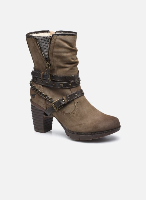 Bottines et boots Mustang shoes indiala Marron vue détail/paire
