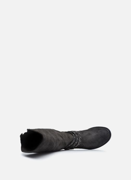 Stiefel Mustang shoes Edwige grau ansicht von links