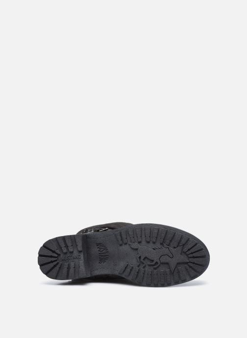 Stiefel Mustang shoes Edwige grau ansicht von oben