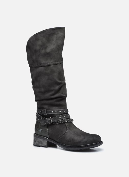Bottes Mustang shoes Edwige Gris vue détail/paire