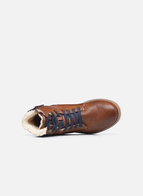 Stiefel Mustang shoes Glify braun ansicht von links