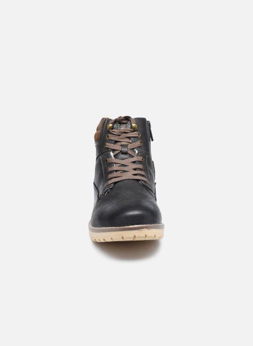 Bottes Mustang shoes Glify Gris vue portées chaussures