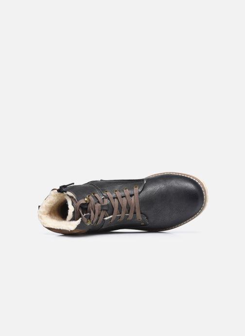 Stiefel Mustang shoes Glify grau ansicht von hinten