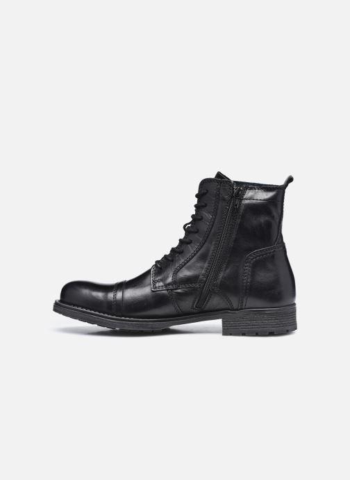 Bottines et boots Mustang shoes Orino Noir vue face